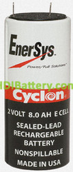 Bateria Cyclon 2 Voltios 8 Amperios 0850-0004